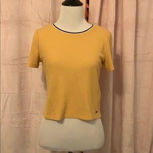 Yellow Hollister t-shirt